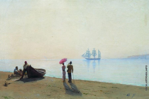 Лагорио Л. Ф. На берегу моря