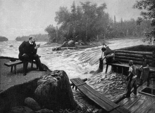 Лагорио Л. Ф. На лоне финской природы