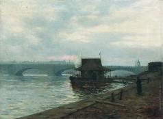 Лагорио Л. Ф. Набережная в Санкт-Петербурге