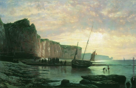 Лагорио Л. Ф. Нормандский берег