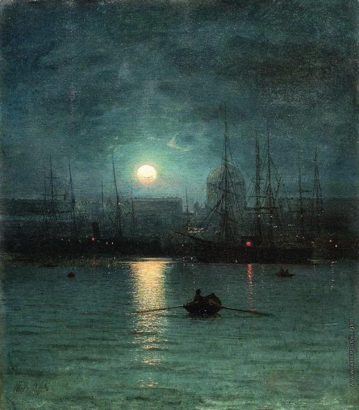 Лагорио Л. Ф. Ночной пейзаж