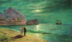 Лагорио Л. Ф. Ночь в Крыму. Берег моря