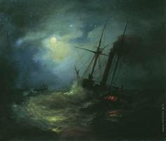 Лагорио Л. Ф. Ночь на море