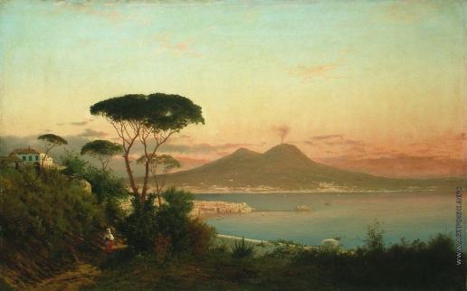 Лагорио Л. Ф. Окрестности Неаполя с видом на Везувий