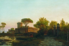 Лагорио Л. Ф. Пейзаж Франции