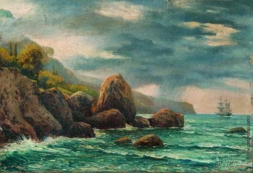 Лагорио Л. Ф. Прибрежный вид