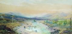 Лагорио Л. Ф. Река в предгорье