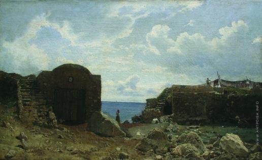 Лагорио Л. Ф. Рыбацкий поселок