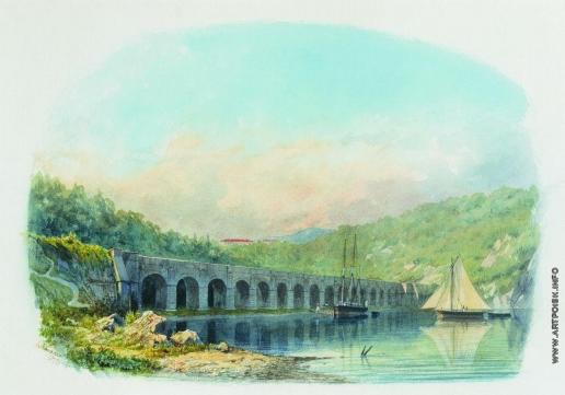 Лагорио Л. Ф. Севастопольский водопровод в Киленбалочной бухте