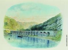 Лагорио Л. Ф. Севастопольский водопровод в Севастопольской балке