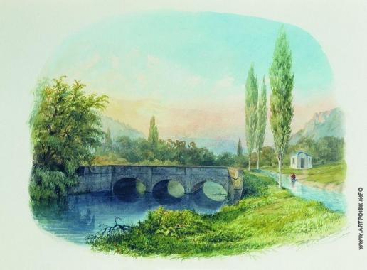 Лагорио Л. Ф. Севастопольский водопровод в Ушаковской балке
