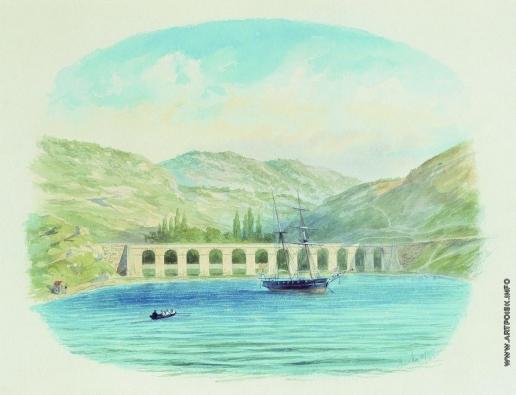 Лагорио Л. Ф. Севастопольский водопровод при Георгиевском пороховом погребе