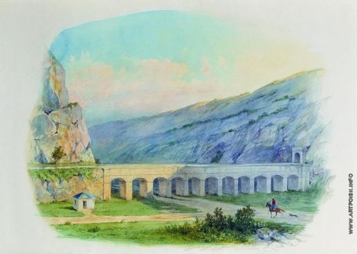 Лагорио Л. Ф. Севастопольский водопровод при деревне Чугуне