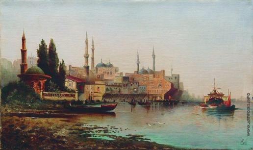 Лагорио Л. Ф. Турецкий порт