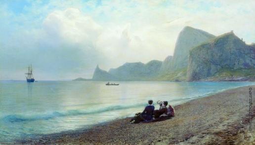 Лагорио Л. Ф. У моря