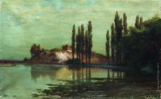 Лагорио Л. Ф. Украинский пейзаж