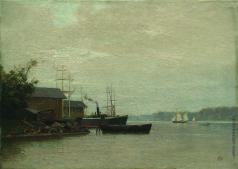 Лагорио Л. Ф. Утро на реке