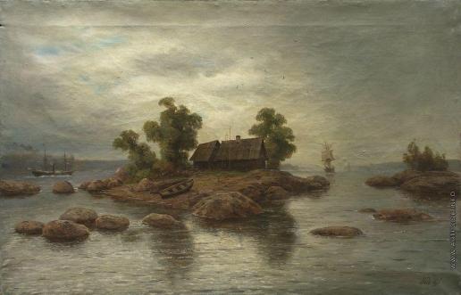 Лагорио Л. Ф. Хутор на острове