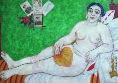 Ларионов М. Ф. Еврейская Венера (Натурщица)