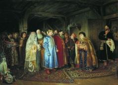 Лебедев К. В. Боярская свадьба