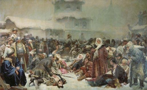 Лебедев К. В. Марфа Посадница. Уничтожение новгородского веча