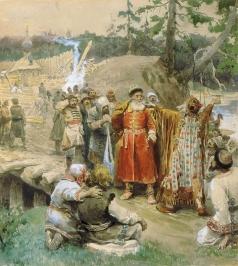 Лебедев К. В. Освоение русскими новых земель