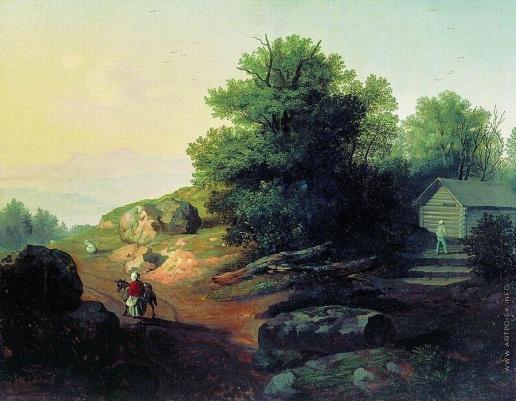 Лебедев М. И. Итальянский пейзаж
