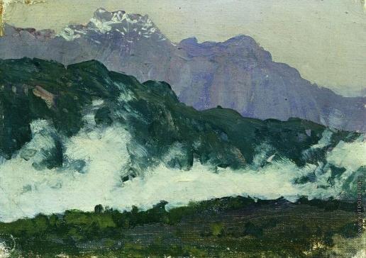 Левитан И. И. Альпы
