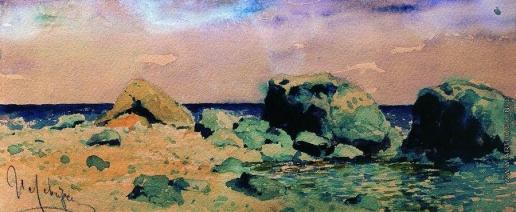 Левитан И. И. Берег моря и вид на море
