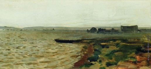Левитан И. И. Берег реки