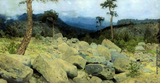 Левитан И. И. В крымских горах