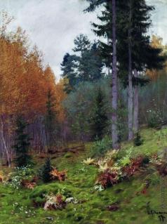 Левитан И. И. В лесу осенью
