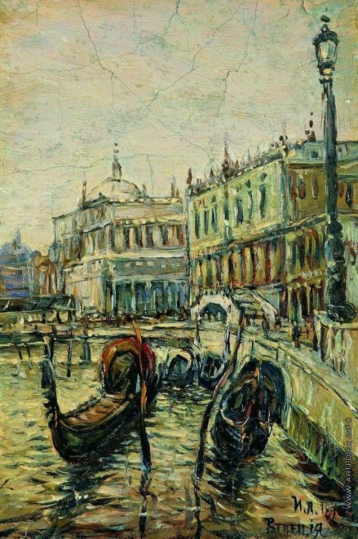 Левитан И. И. Венеция. Рива дельи Скьявони