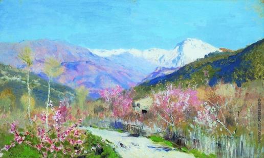 Левитан И. И. Весна в Италии