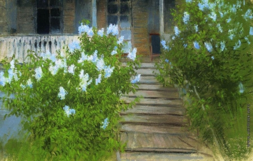 Левитан И. И. Весна. Белая сирень
