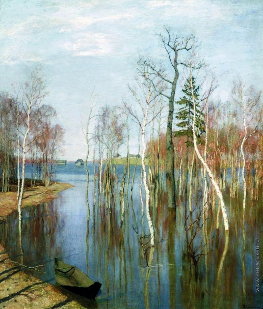 Левитан И. И. Весна. Большая вода