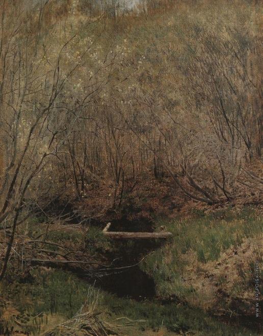 Левитан И. И. Весной в лесу