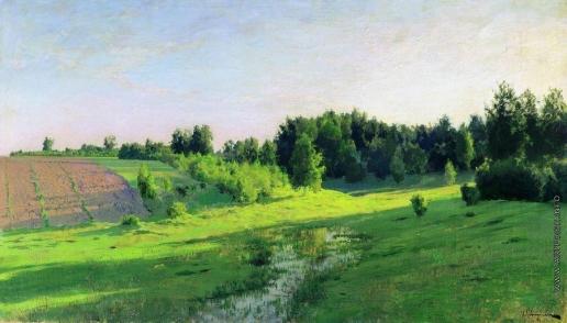 Левитан И. И. Вечерние тени. 1891-