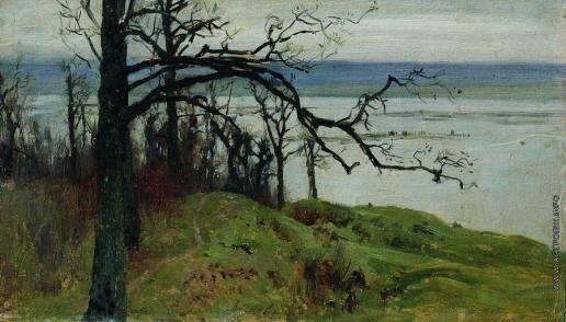 Левитан И. И. Волга с высокого берега