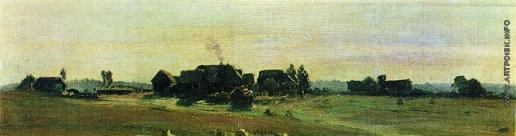 Левитан И. И. Деревня