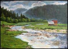 Абдуллаев В. А. Горная река