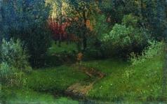 Левитан И. И. Дорога в лесу