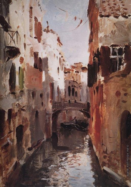 Левитан И. И. Канал в Венеции