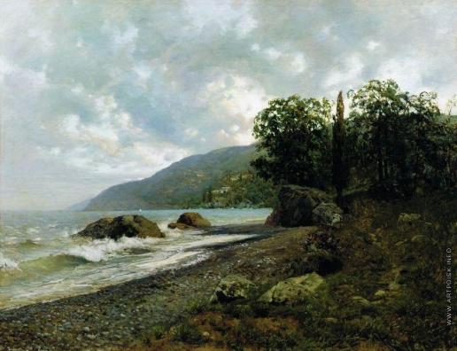 Левитан И. И. Крымский пейзаж