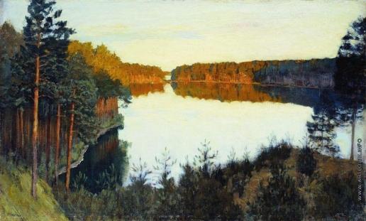 Левитан И. И. Лесное озеро