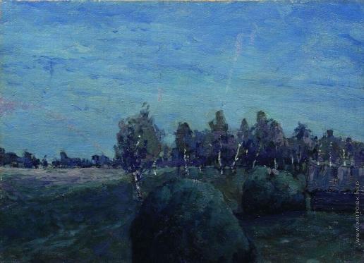 Левитан И. И. Лунный пейзаж