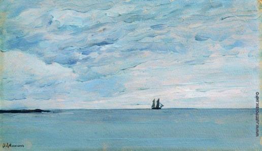 Левитан И. И. Море у финляндских берегов