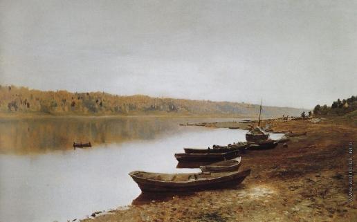 Левитан И. И. На Волге. 1887-