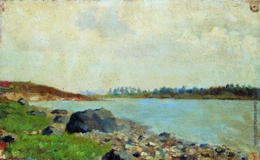 Левитан И. И. На Москве-реке