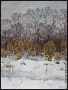 Абдуллаев В. А. Зимний день